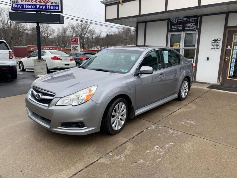 2011 SILVER SUBARU LEGACY 2.5I LIMITED (4S3BMBK68B3) with an 2.5L engine, Automatic transmission, located at 503 First Street, Canonsburg, PA, 15317, (724) 745-0566, 40.266006, -80.178413 - Photo #0