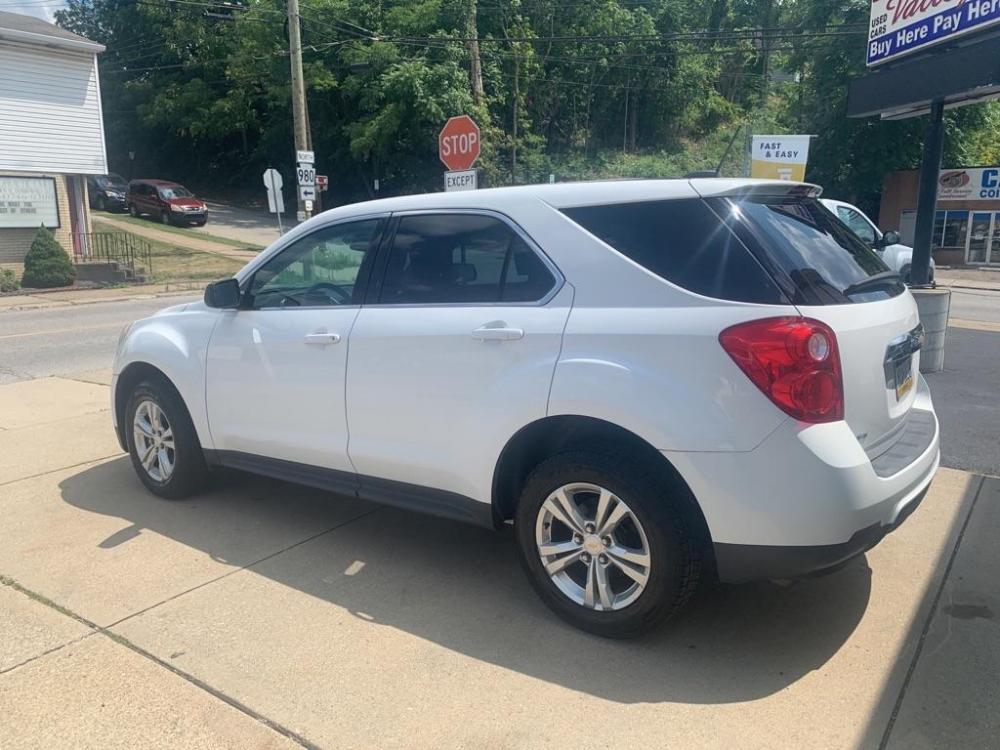 2015 WHITE CHEVROLET EQUINOX LS (2GNFLEEK0F6) with an 2.4L engine, Automatic transmission, located at 503 First Street, Canonsburg, PA, 15317, (724) 745-0566, 40.266006, -80.178413 - Photo #0